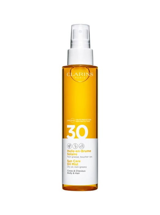 Clarins Sun Care Oil Mist for Body & Hair SPF30