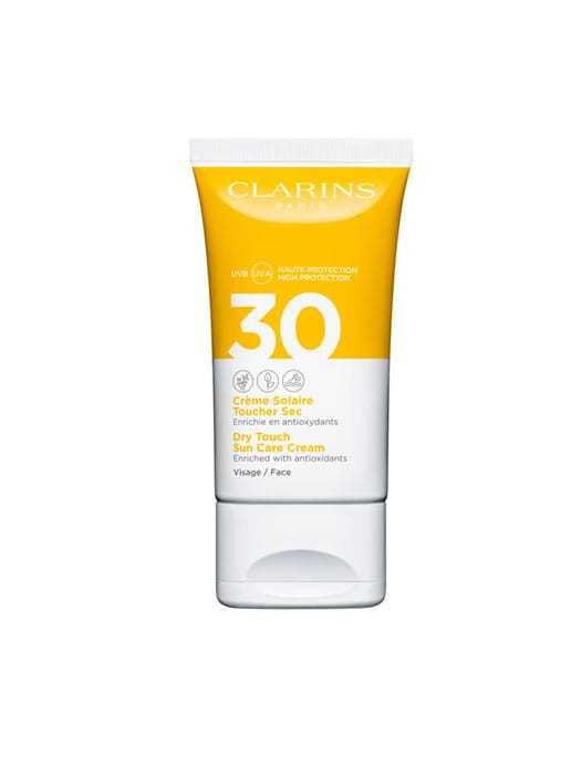 Clarins Dry Touch Sun Care Cream for Face SPF30